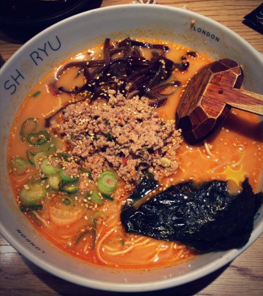 Ramen at Shoryu